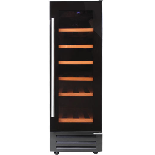 Prima 300mm Black Wine Cooler