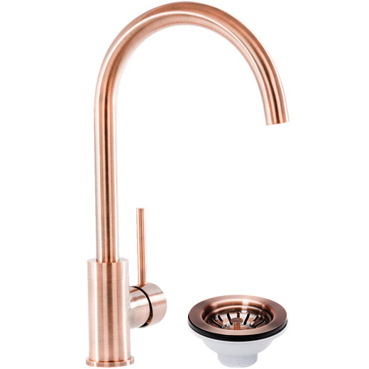 Prima+ Professional Mixer Tap Copper